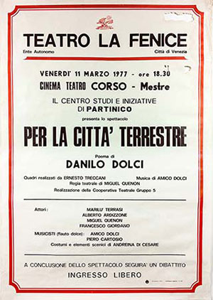 Theater manifest in '70 years