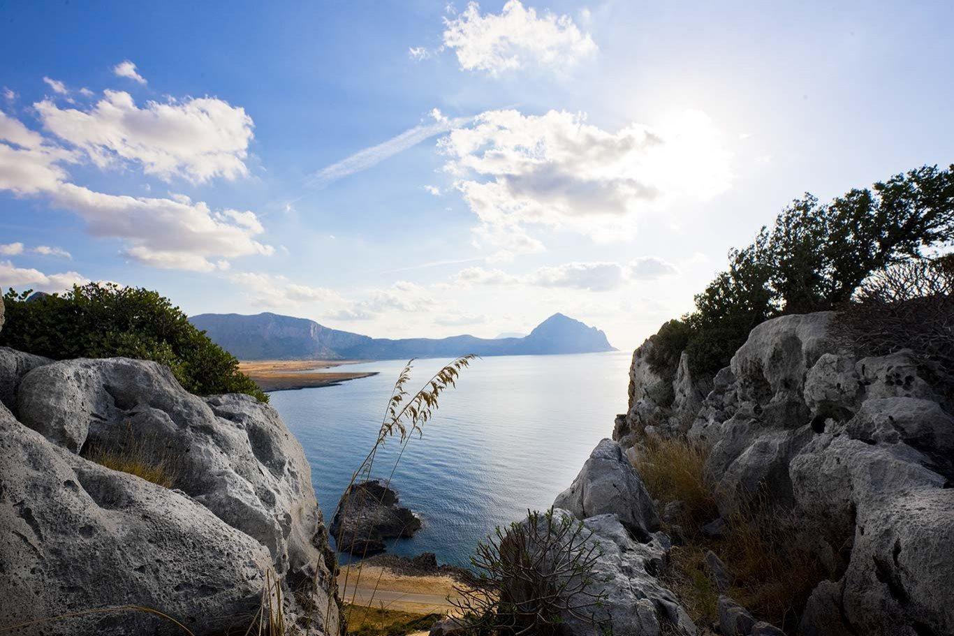 Vista dal monte Cofano