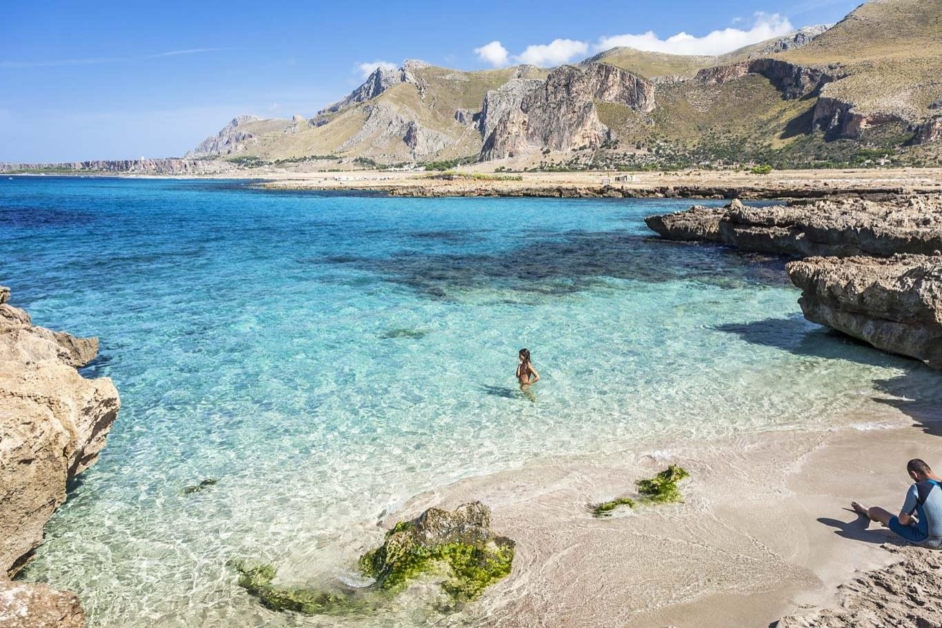La spiaggetta di Makari