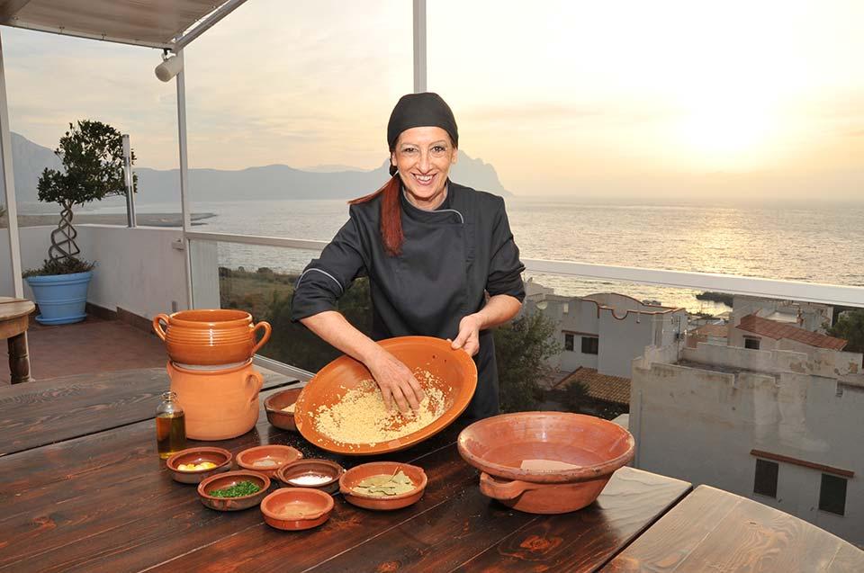 Lo chef Marilù Terrasi