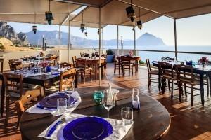 Il ristorante sulla terrazza