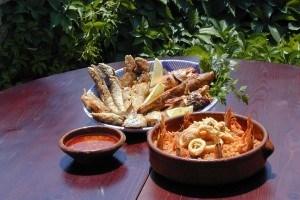 Couscous di pesce e fritto misto